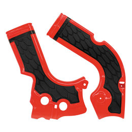 Acerbis X-Grip Frame Guard For Honda CRF250R CRF450R Red/Black 2374241018 Red