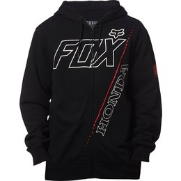 Fox Racing Mens Offically Licensed Honda Zip Hoody Black