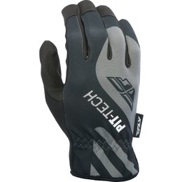Fly Racing Mens Pit Tech Lite Gloves Black