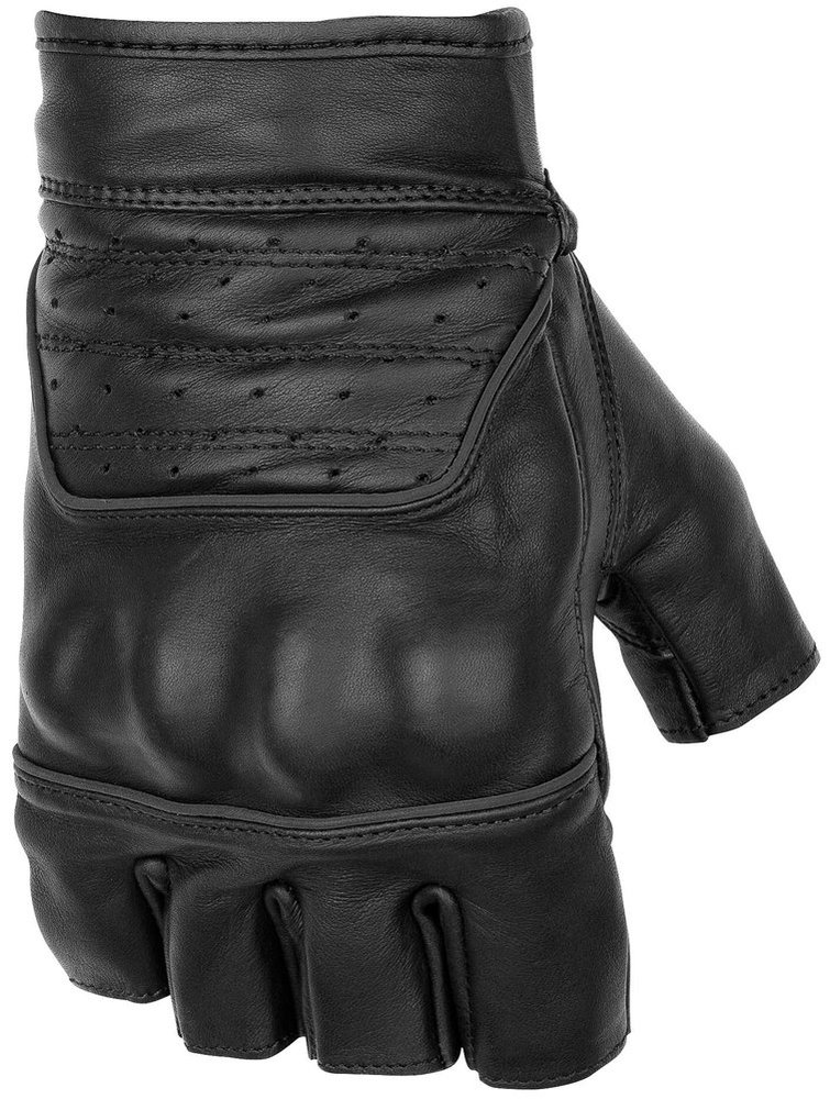 3995 Black Brand Mens Brawler Shorty Fingerless Leather 264841