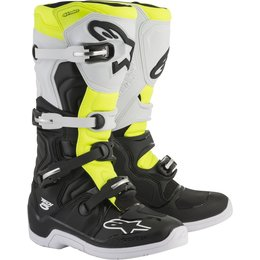 Alpinestars Mens Tech 5 MX Motocross Off-Road CE Certified Riding Boots Black