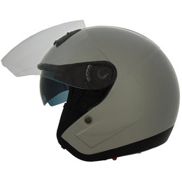 Vega VTS1 VTS-1 Quick Release Open Face Helmet Silver