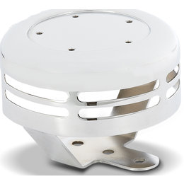 Chrome Arlen Ness Horn Cover For 5-hole Points Cover Big Twin 1991-2012