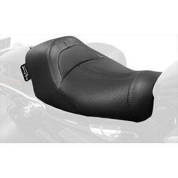 Danny Gray Bigist Solo Leather Seat For Harley-Davidson Dyna 2006-2015 Black