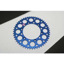 Renthal Rear Sprocket 48T Blue For Yamaha YZ250F YZ450F