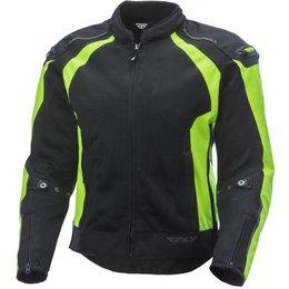 Fly Racing Mens CoolPro Mesh Jacket Green