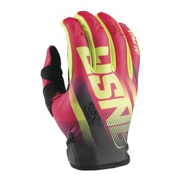 Answer Mens Alpha Air Motocross MX Riding Gloves Red