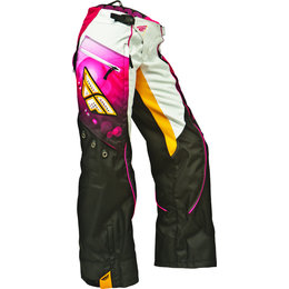 Pink, Orange Fly Racing Womens Kinetic Otb Over The Boot Pants 2014 Us 15 16 Pink Orange