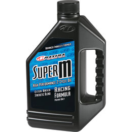 Maxima Super-M Synthetic Blend High Performance 2-Cycle Engine Oil 64 Oz 20964 Unpainted