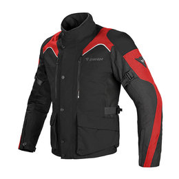 Dainese Mens G. Tempest D-Dry Armored Textile Jacket Black