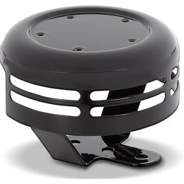 Black Arlen Ness Horn Cover For 5-hole Points Cover Big Twin 1991-2012