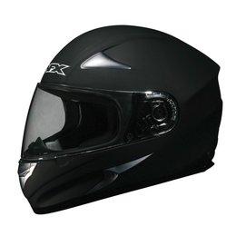 Flat Black Solid Afx Mens Fx-90 Fx90 Full Face Helmet Flat Black