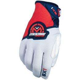 Moose Racing Mens SX1 MX Motorcross Gloves Red