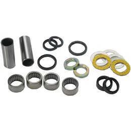 All Balls Swing Arm Bearing And Seal Kit For Yamaha WR250 YZ250 YZ490 Unpainted