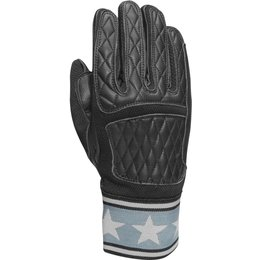 RSD Mens Peristyle MX Leather Riding Gloves Black