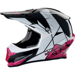 Z1R Womens Rise Offroad MX Motocross DOT Approved Helmet Pink