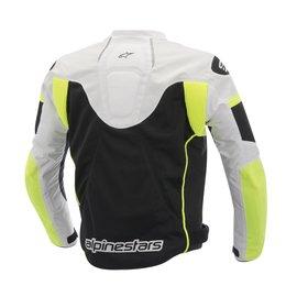 Black, White, Fluorescent Yellow Alpinestars Mens T-gp Plus R Air Textile Jacket 2014 Black White Fluor Ylw