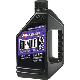 Maxima Formula K2 Premix ONLY Full Synthetic Racing 2-Cycle Engine Oil 1 Liter Unpainted