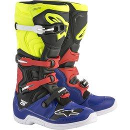 Alpinestars Mens Tech 5 MX Motocross Off-Road CE Certified Riding Boots Blue