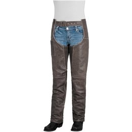 Brown River Road Womens Drifter Leather Chaps 2014 Us 6