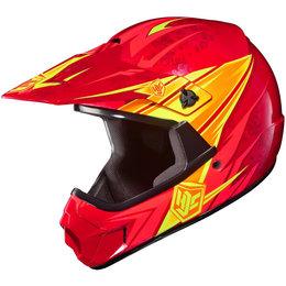 Red Hjc Youth Cl-xy Clxy Pop N Lock Helmet
