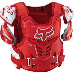 Fox Racing Mens Raptor CE Protection Vest Red