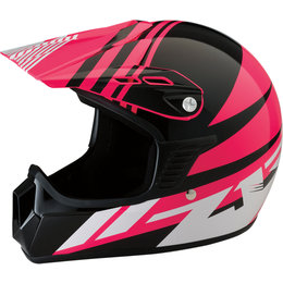 Z1R Youth Girls Roost SE Offroad MX Motocross DOT Approved Helmet Pink