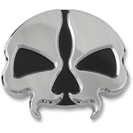 Drag Specialties Vented Skull Gas Cap Each For Harley-Davidson Chrome 0703-0785 Unpainted