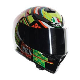 AGV K-3 SV Elements Full Face Helmet Black