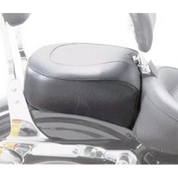 Mustang Motorcycle Vintage Recessed Rear Seat Black For Harley 82-03