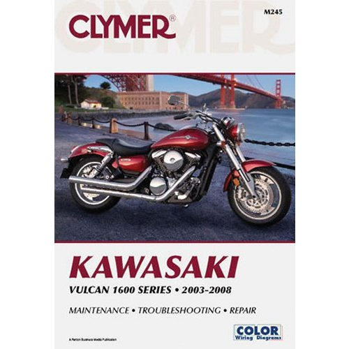 3752 Clymer Repair Manual For Kawasaki Vulcan 1600 921349