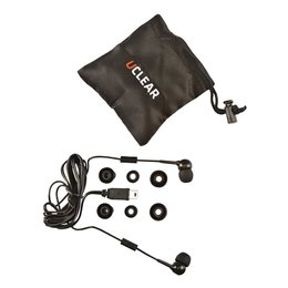 UClear UEA-S Short Universal Earbuds For HBC100 Plus HBC200 Series