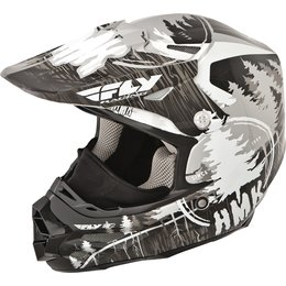 Fly Racing HMK F2 Carbon Pro Stamp Cold Weather Helmet Black