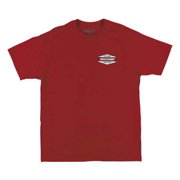 FMF Mens Hawthorne Short Sleeve Cotton T-Shirt Red