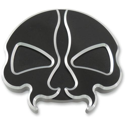 Drag Specialties Vented Skull Gas Cap Each For Harley-Davidson Black  0703-0786