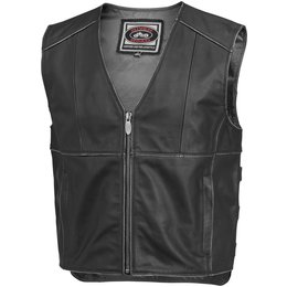 Black River Road Mens Rambler Leather Vest 2014 40