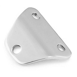 Chrome Bikers Choice Bottom Mount Headlight Bracket For Harley Fl 49-84