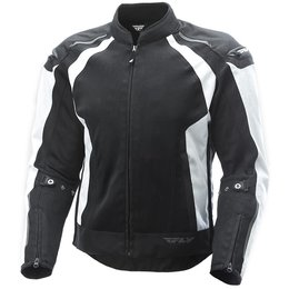 Fly Racing Mens CoolPro Mesh Jacket White