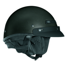 Grey Metallic Vega Mens Xta Touring Half Helmet 2013