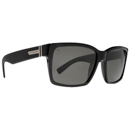 Black Gloss Vonzipper Elmore Sunglasses Grey Polarized