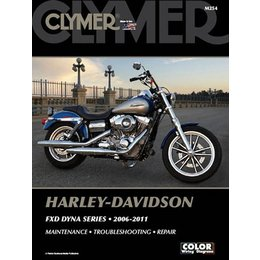 Clymer Repair Manual For Harley Davidson FXD Dyna Series 2006-2011