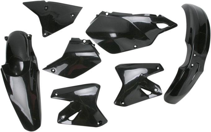 Suzuki DR-Z 400S 2000-2009 Acerbis Side Panels Black Fits