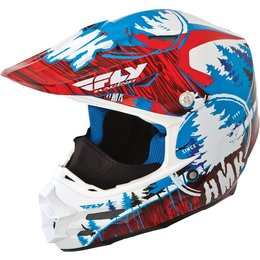 Fly Racing HMK F2 Carbon Pro Stamp Cold Weather Helmet Red