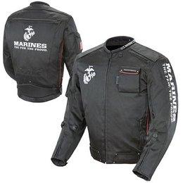 Black Joe Rocket Marines Alpha Textile Jacket