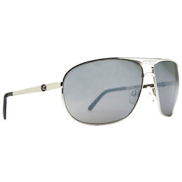 Silver Vonzipper Skitch Sunglasses W Grey Chrome Lens