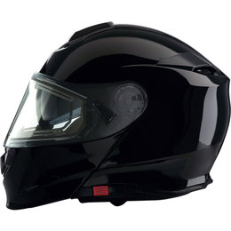 Z1R Solaris Modular DOT Approved Snowmobile Helmet With Electric Heated Shield Black