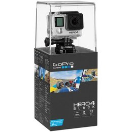 GoPro Hero4 Black Wearable/Mountable Camera Silver Black Silver
