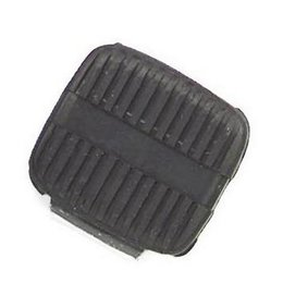 Black Bikers Choice Brake Pedal Rubber Pad For Harley Fxwg Fxst