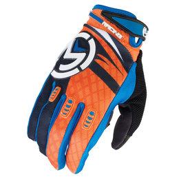 Black, Blue, Orange Moose Racing Boys M1 Gloves 2015 Black Blue Orange