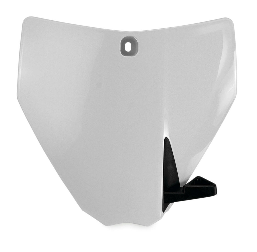 Acerbis 2421120002 Front Number Plate White